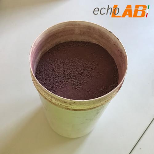 Resina fenolica in polvere marrone per provini 1 kg echoLAB - ECHOLAB 007
