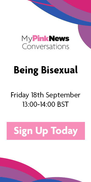 MyPinkNews Conversations - Being Bisexual - Webinar