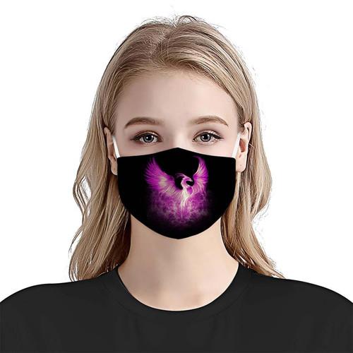 Premium Epilepsy Awareness Phoenix Rising From The Ashes EZ09 1504 Face Mask 2.jpg