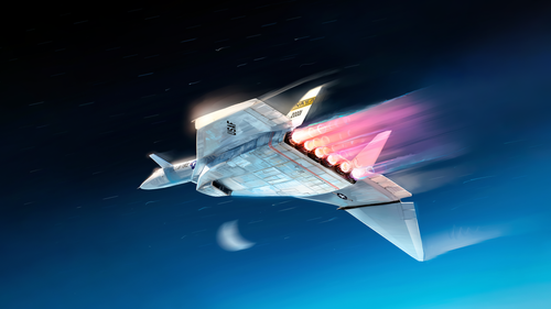 XB 70 Valkyrie Vibrant Afterburners by Julien Lepelletier (Full).png