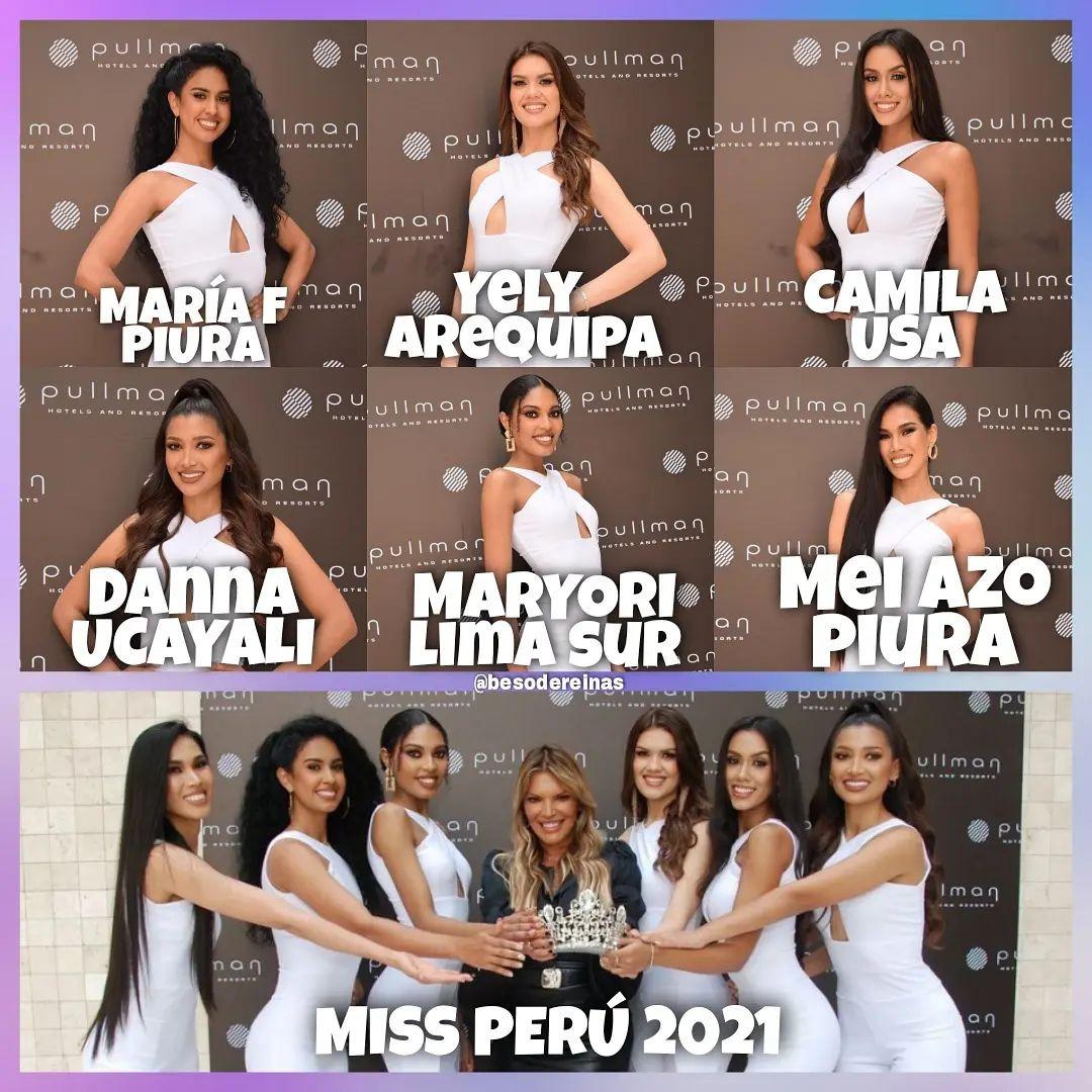 concurso miss peru 2021. top 10 de finalistas: pag 3, 4. top 6: pag. 4. final: 10 oct. - Página 4 523m1n