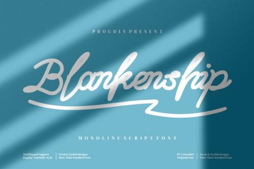 Blankenship Font 2x TTF/OTF