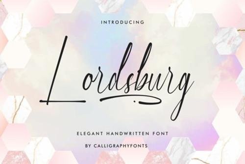 Lordsburg Font 1x TTF/OTF