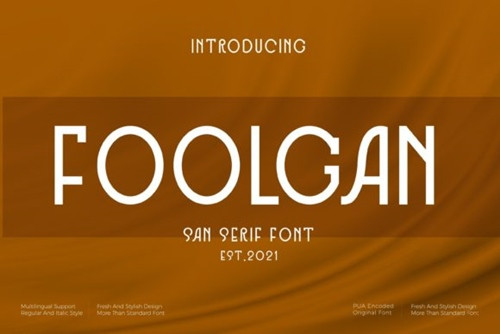 Foolgan Font 1x TTF/OTF