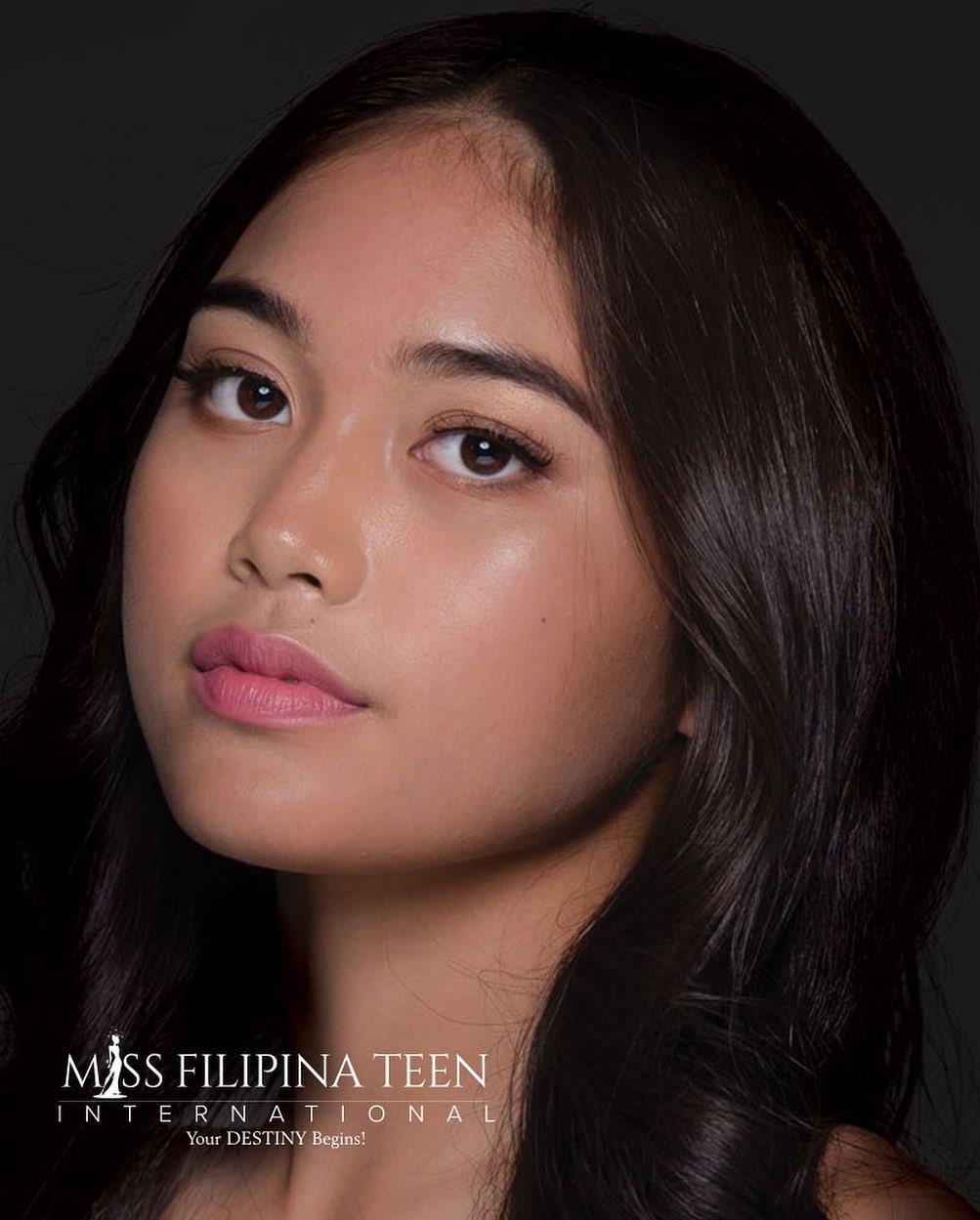 candidatas a miss filipina teen international 2021. final: 31 july. A5CTAJ