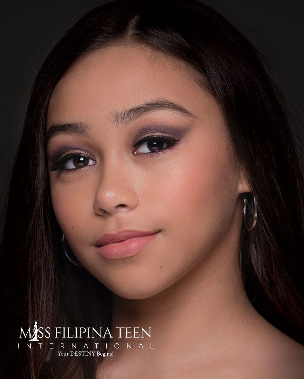candidatas a miss filipina teen international 2021. final: 31 july. A5qUdu