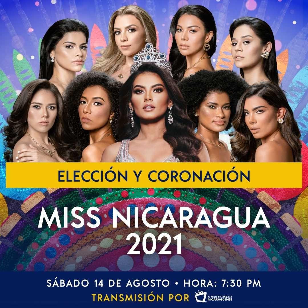 candidatas a miss nicaragua 2021. final: 14 de agosto. AGHWzJ