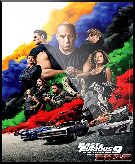 Fast and Furious 9 (2021) 1080p English HEVC HDCAM x264 AAC By Full4Movies