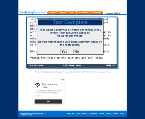 Captura web 26 7 2021 154735 www.freetypinggame.net.jpg
