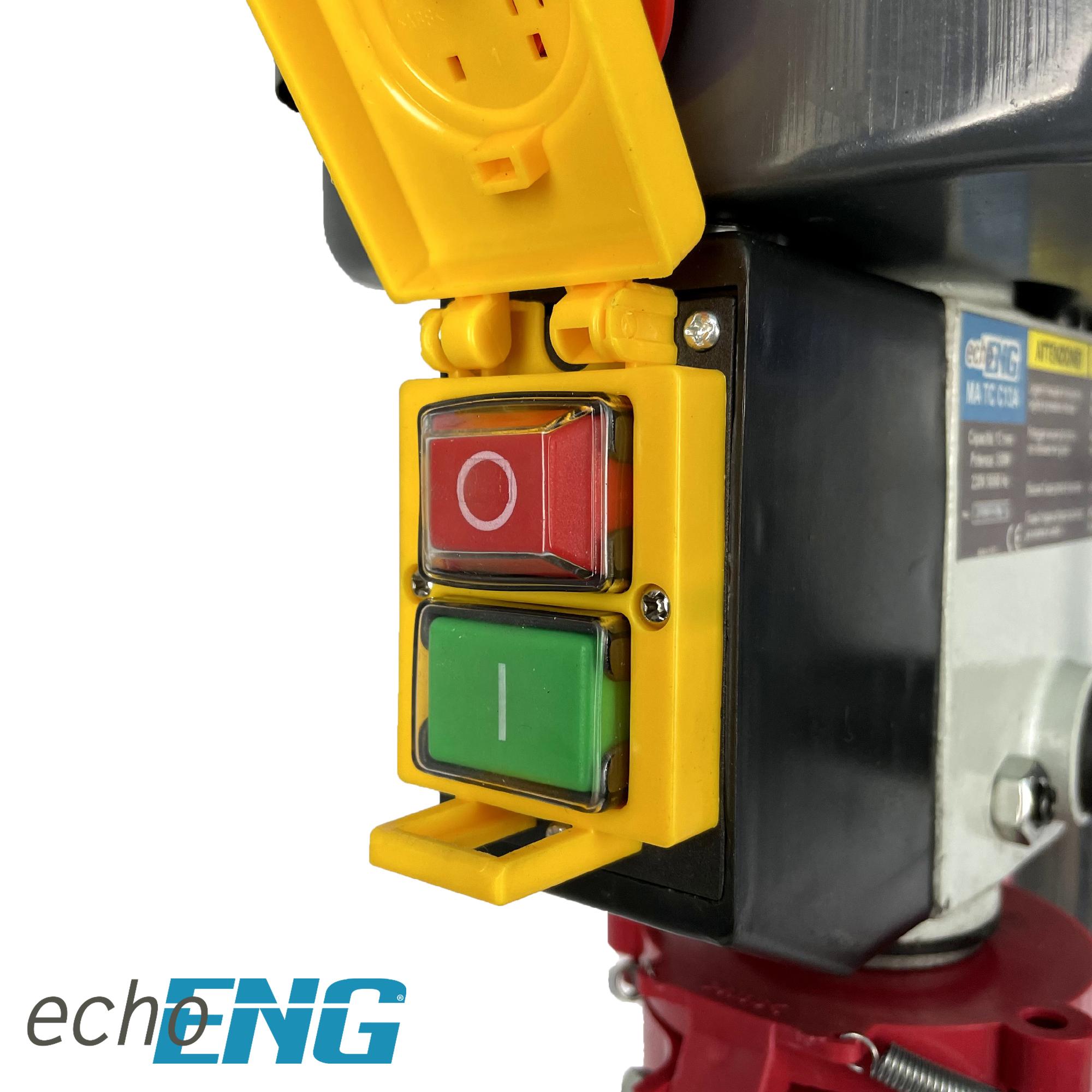 Trapano a colonna da banco 13mm velocità regolabile - echoENG - MA TC C13A