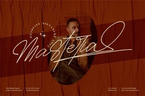 Masteria Font 2x TTF/OTF