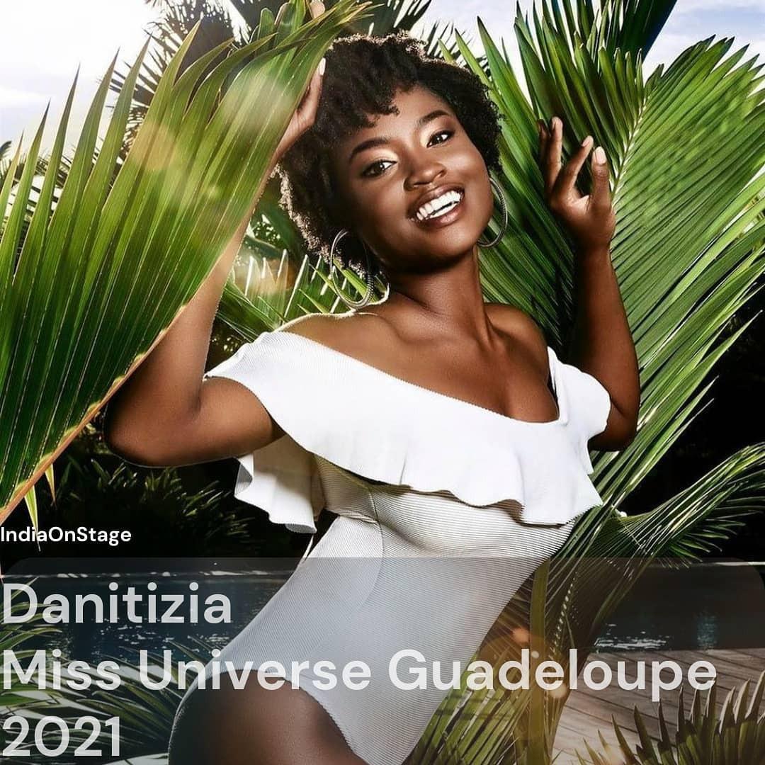 guadeloupe & aruba para miss universe 2021. AieBaf