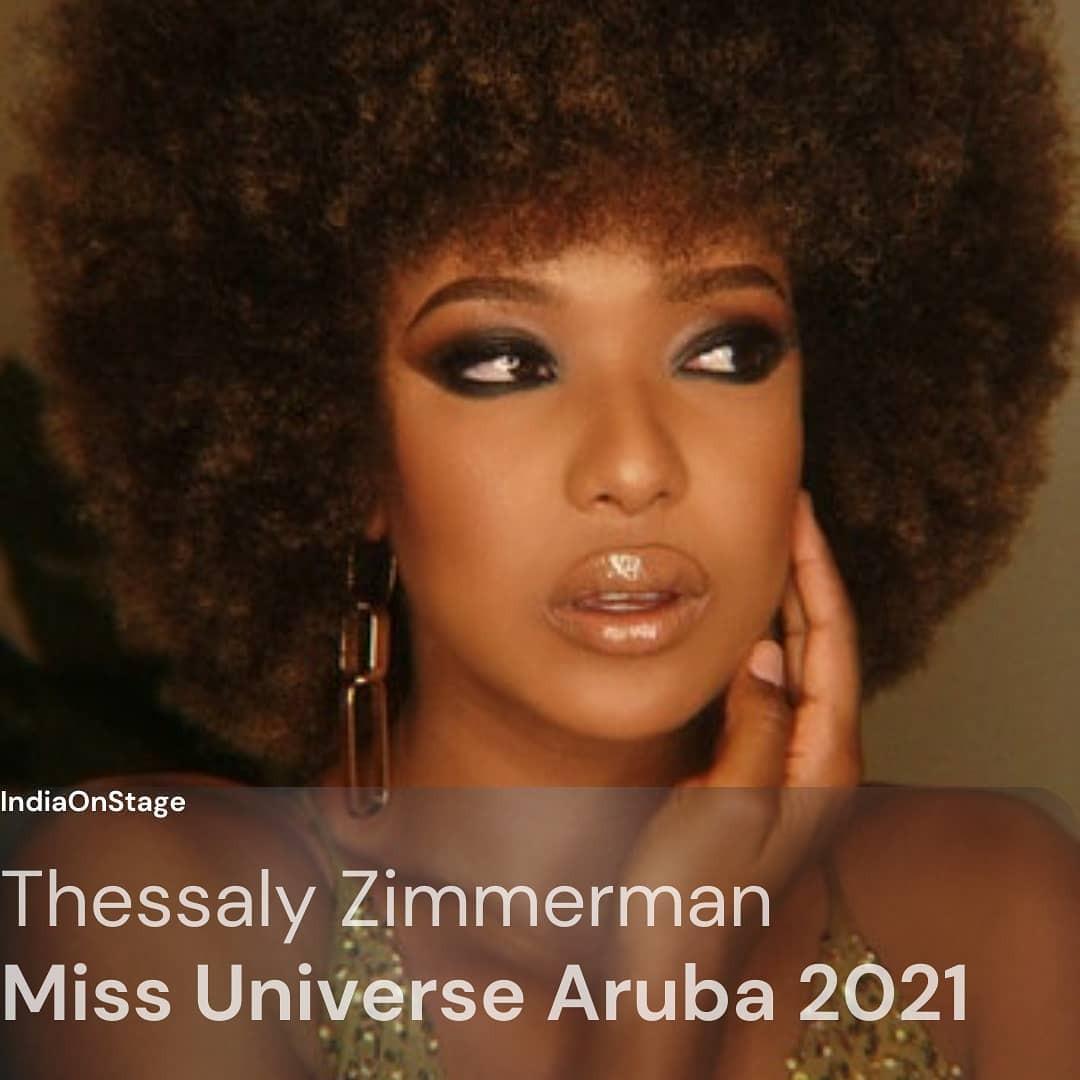 guadeloupe & aruba para miss universe 2021. AiecyQ
