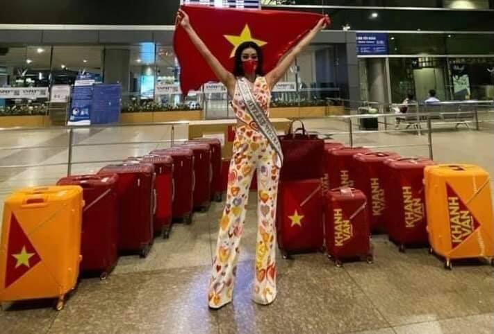 maletas de miss vietnam. BC4Byu