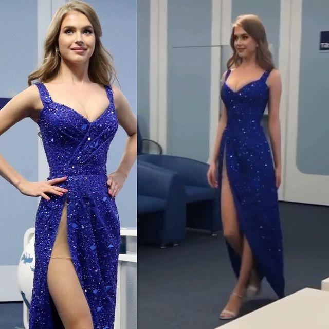 evening gown de miss russia para miss universe 2020. BKUxpV