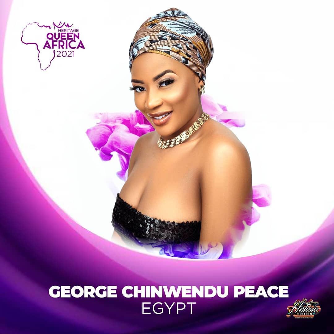candidatas a heritage queen africa 2021. final: 19 june. BPPglS