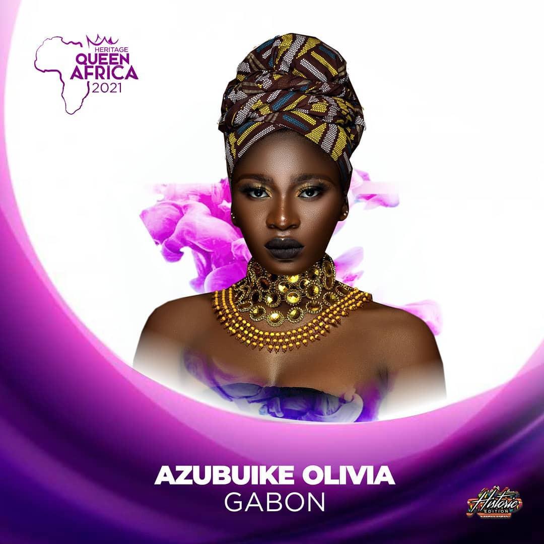 candidatas a heritage queen africa 2021. final: 19 june. BPiH5F