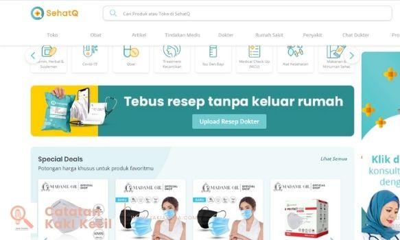 toko online sehatQ