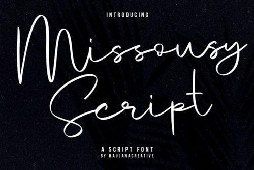 Missousy Font
