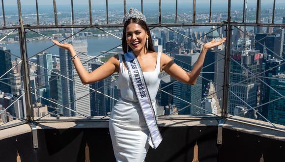 Miss Universo 2021: hasta cuándo llevará la corona Andrea Meza BbOS2I