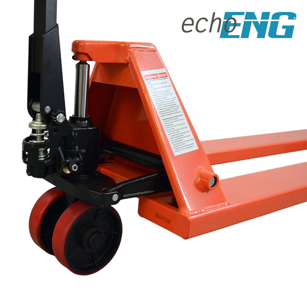 Transpallet sollevatore forche extra lunghe 1800 mm 2 T Ton echoENG - MA SL E182