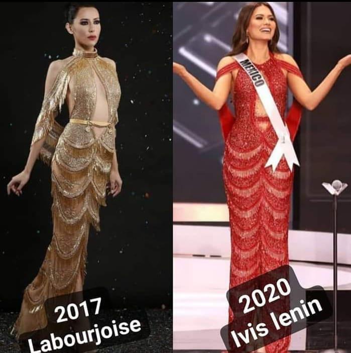 Diseñador de la Miss Universo Andrea Meza es señalado de plagio en redes Br66Ov