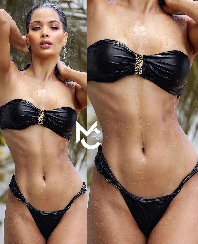 miss dominican republic de bikini negro. BxZs94
