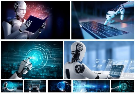 Robot Stock Photos 3 - 9xJPG