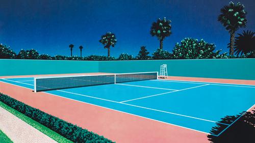 Tennis Court by Hiroshi Nagai (16 9 Wallpaper Edit).png