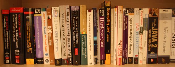 Java Books Library