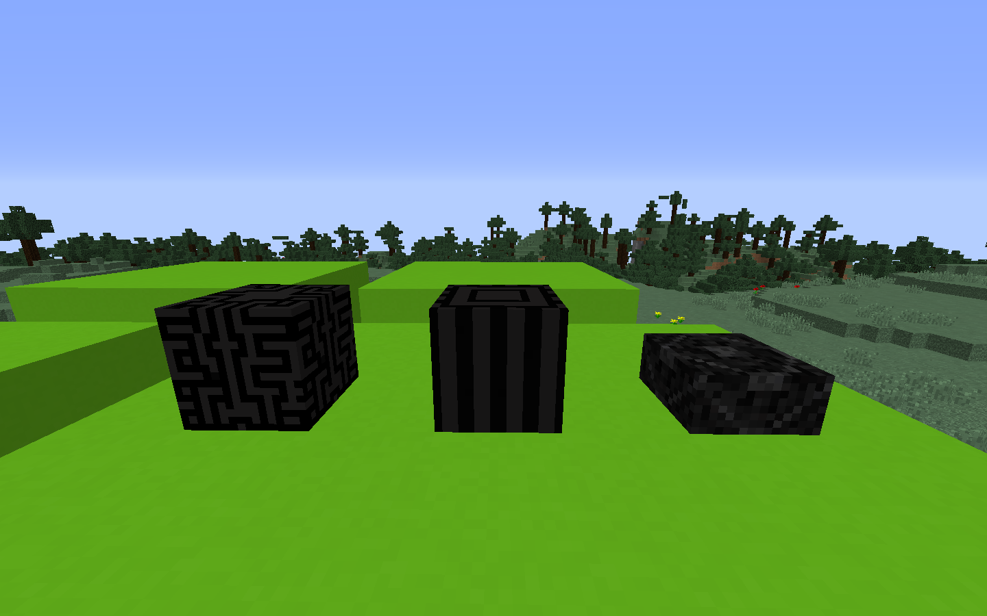 Black Quartz Blocks