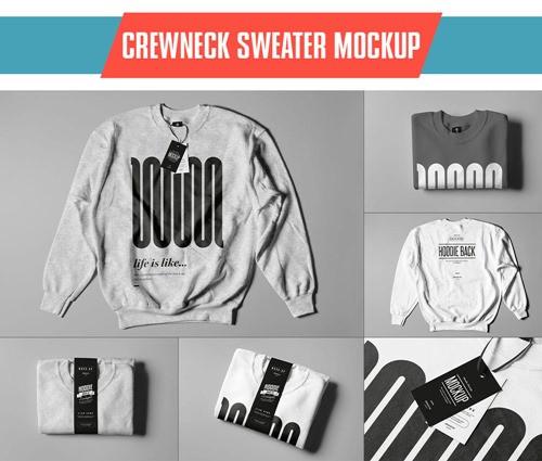 Crewneck Sweater Mock-up