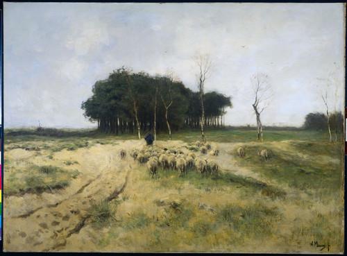 Mauve, Anton Вересковая пустошь Ларена, 1887, 77 cm х 104 cm, Холст, масло