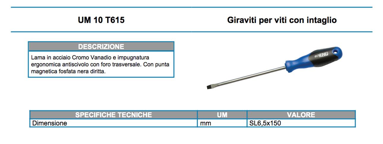UM 10 T615 dati