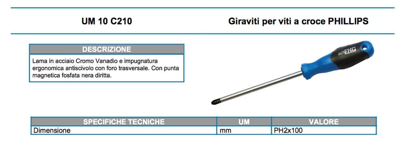 UM 10 C210 dati