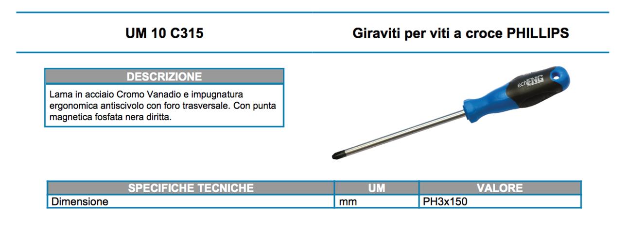 UM 10 C315 dati