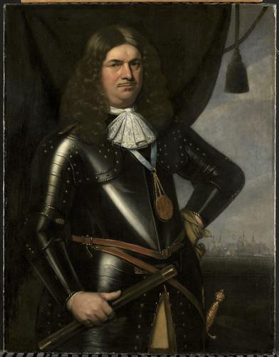 Berckman, Hendrick Adriaen Banckert (ca 1620 84).Лейтенант адмирал Зеландии, 1673, 110 cm х 83,5 cm,