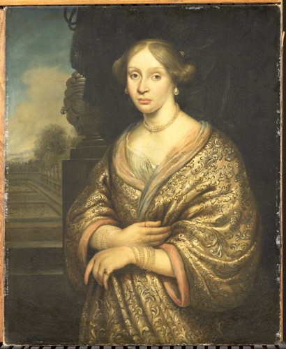 Blijhooft, Zacharias Maria van der Burght, первая жена Francois Leidecker, 1674, 88 cm х 72 cm, Холс