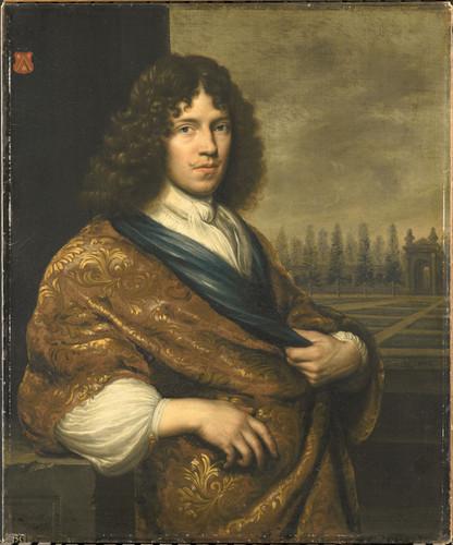 Blijhooft, Zacharias Francois Leidecker (1650 1718). Комиссар суда Зеландии, 1674, 90 cm х 75 cm, Хо