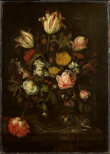 Beyeren, Abraham Hendricksz van Натюрморт с цветами, 1670, 64 cm x 46 cm, Холст, масло