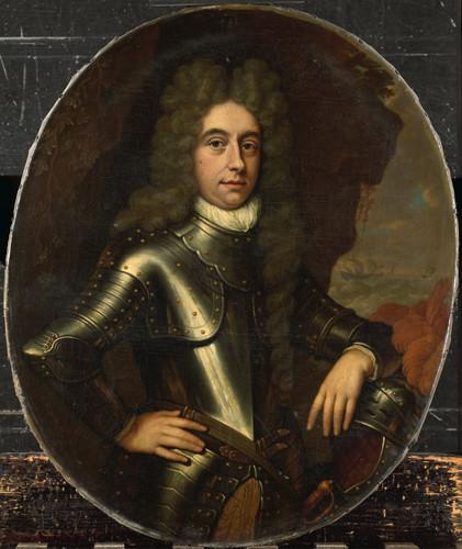 Haensbergen, Jan van Harmen Lijnslager (1664 1704). Секретарь адмиралтейства Амстердама, 1699, 61 cm