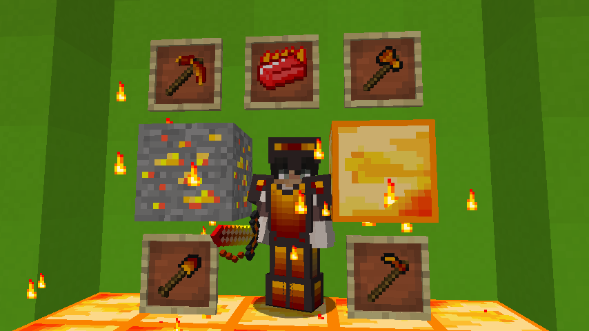 Fire Ingot Set