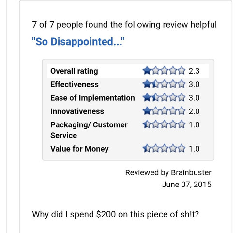 Stupid review 1