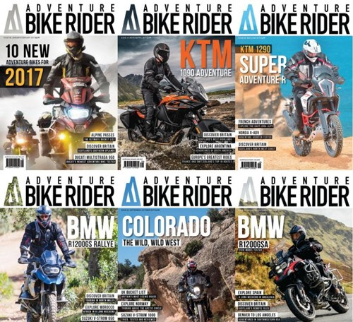 Adventure Bike Rider - 2017 Full Year Issues Collection