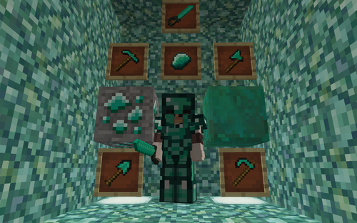 Malachite Set