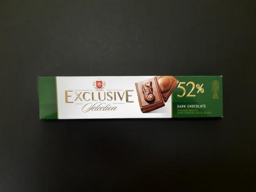 შოკოლადის ფილა EXCLUSIVE 52% შავი შოკოლადი 50გრ.jpg