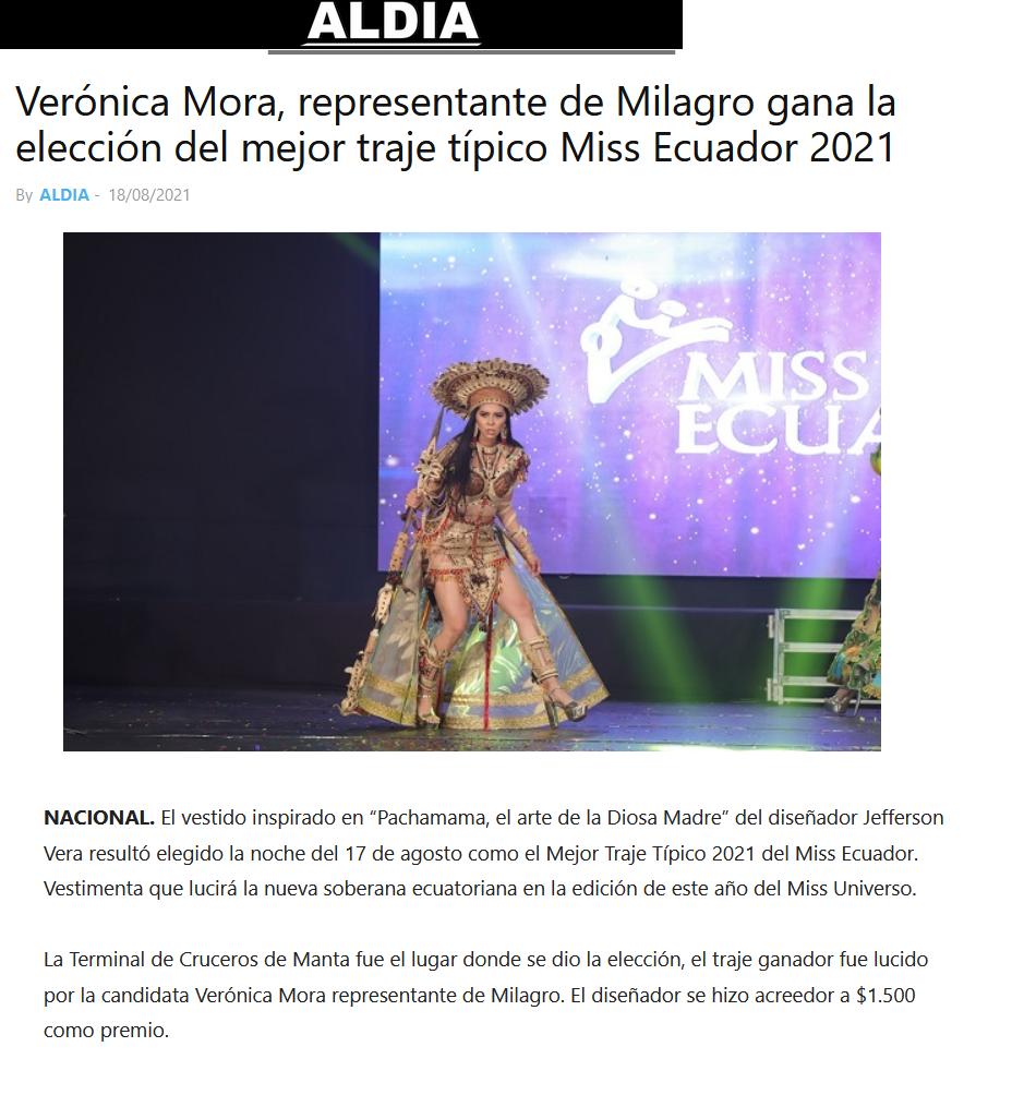 candidatas a miss ecuador 2021. final: 11 sept. - Página 3 REBHen