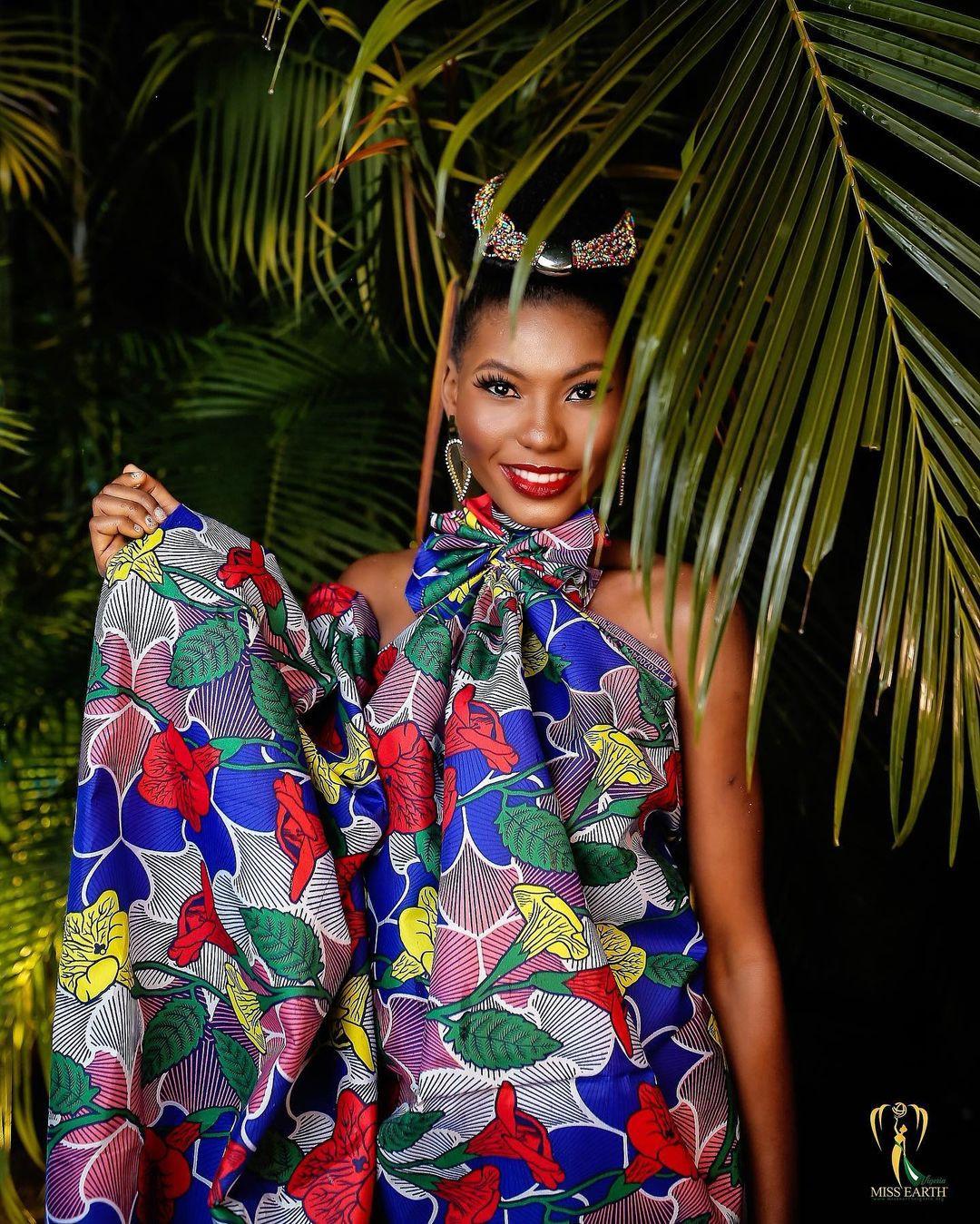 candidatas a miss earth nigeria 2021. final: 28 de agosto.  RGL9Gj