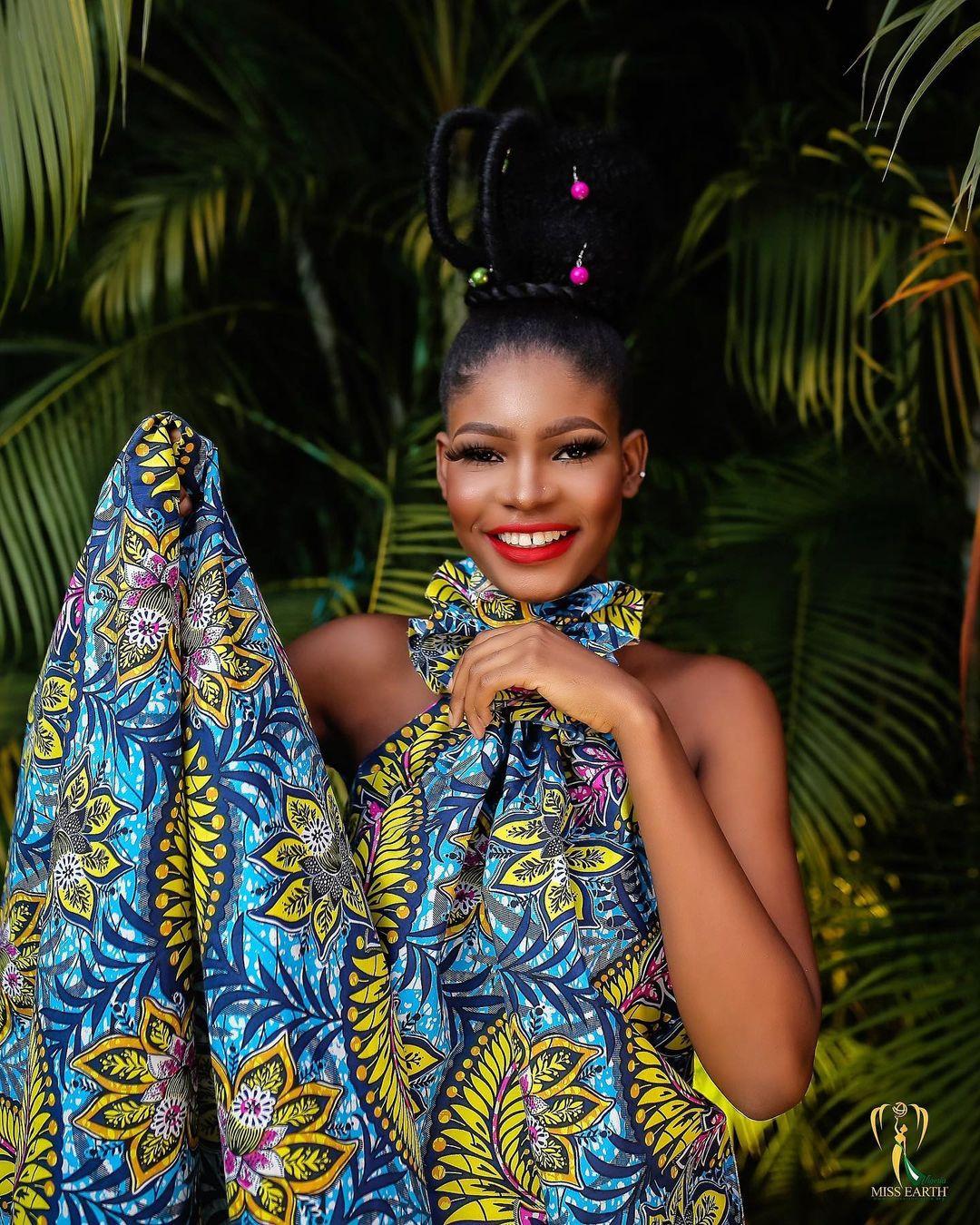 candidatas a miss earth nigeria 2021. final: 28 de agosto.  RGss3l