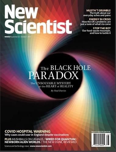 New Scientist US - September 25, 2021